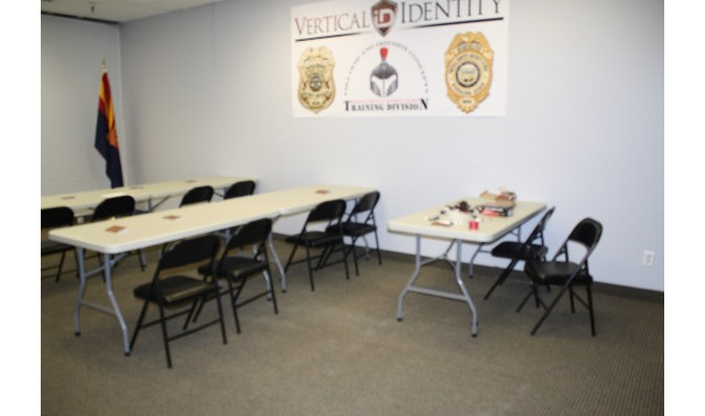 Training Room - Vertical Identity Security Training & Investigations