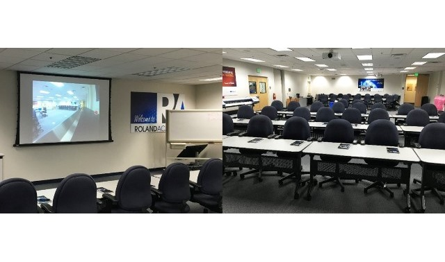 Training/Conference Room in Irvine, Roland DGA Corp   eVenues com