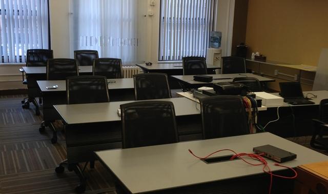 Iideacenter Training Room In New York Iideagroup