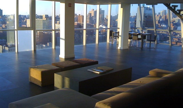 The Penthouse Rooftop In New York Hotel On Rivington