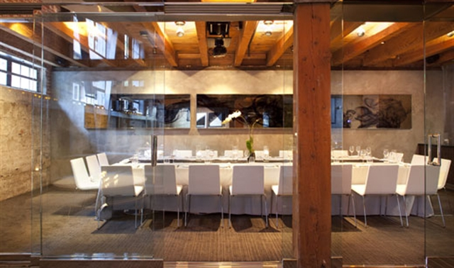 Private dining room in san francisco twenty five lusk - Private dining rooms in san francisco ...