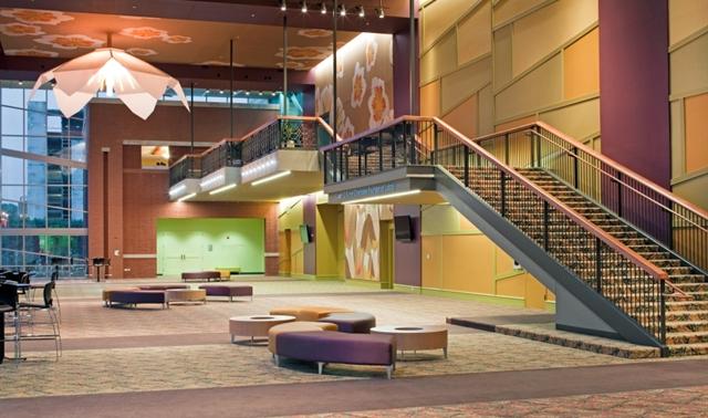 laura g  turner foundation lobby in bowling green