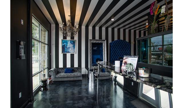 Main Floor In Austin Bleu Canvas Nail And Beauty Bar