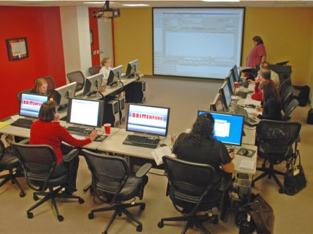 Computer Training Classroom In Reston Brittenford Systems