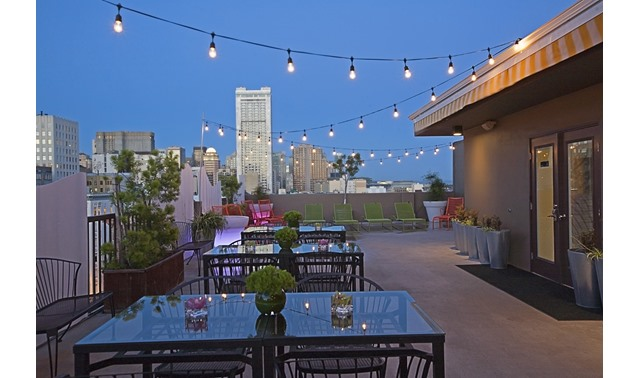Rooftop Terrace In San Francisco Cova Hotel Evenues Com