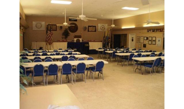 Main Hall In Riviera Beach American Legion Post 268